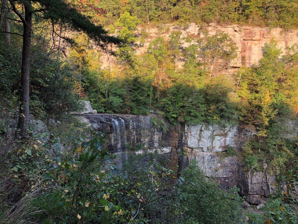 The falls at Lula Lake Land Trust in northern Georgia