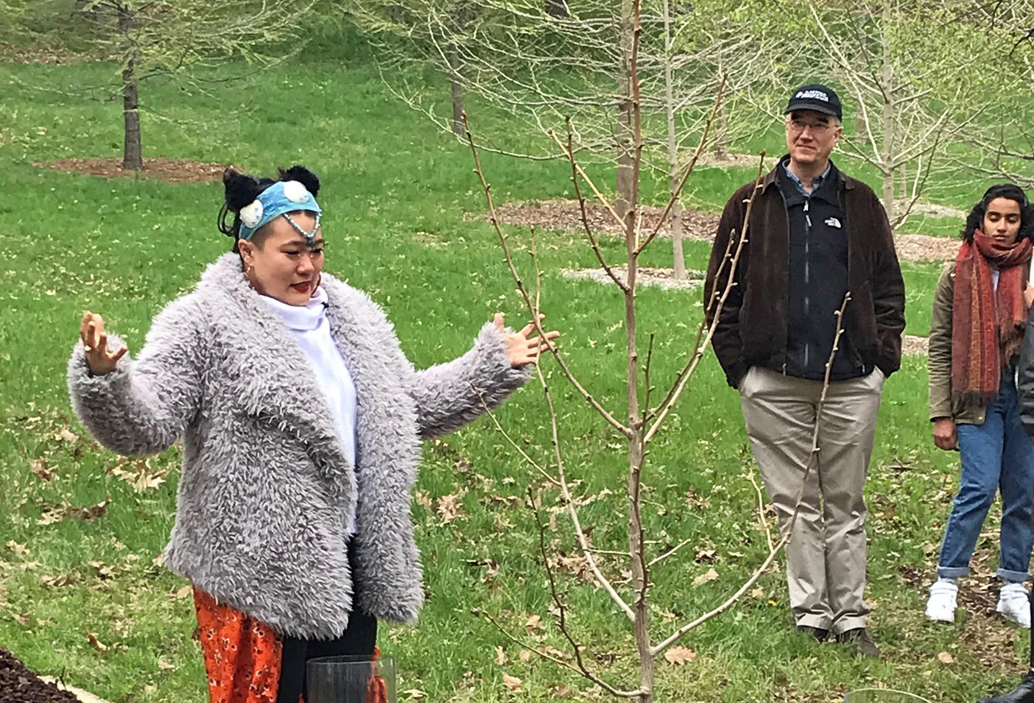Diana Oh Tree Planting