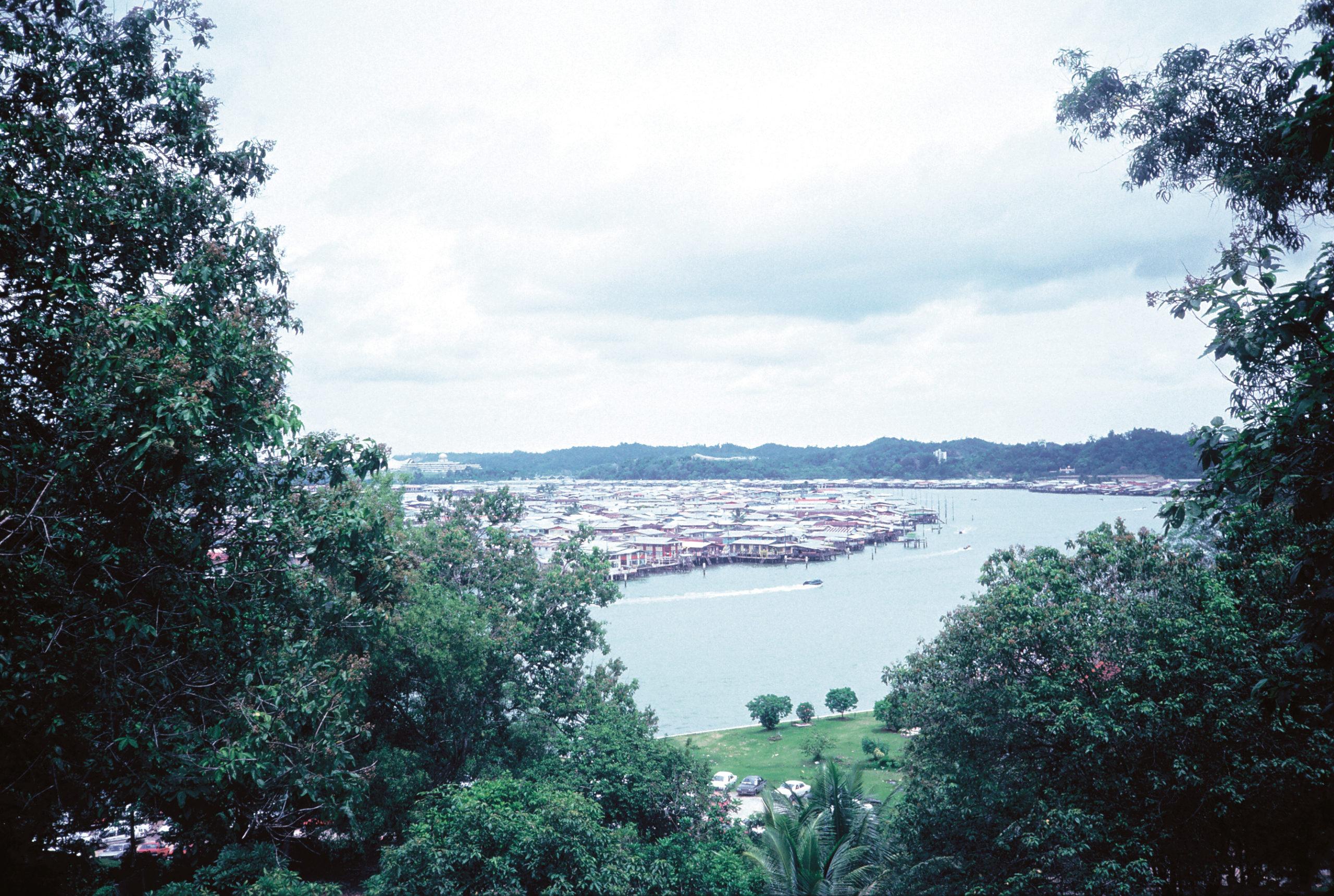 View looking over Bay of Brunei