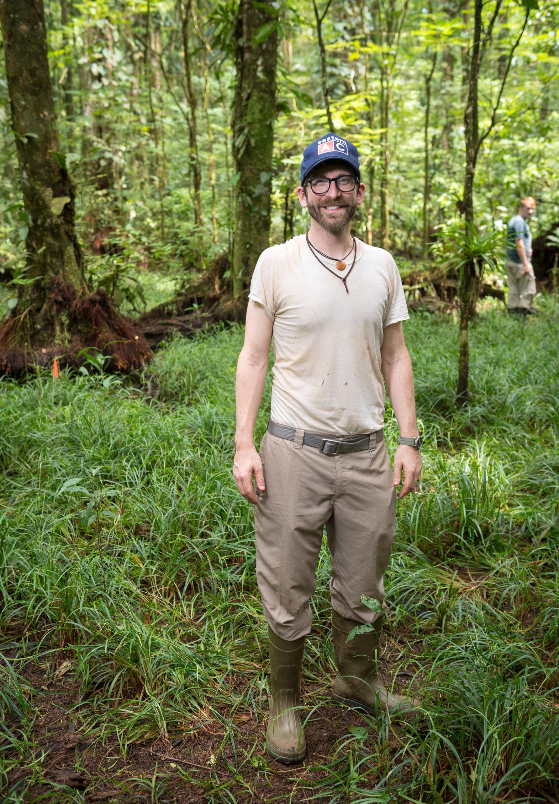 Ben Taylor at La Selva Biological Station in Costa Rica