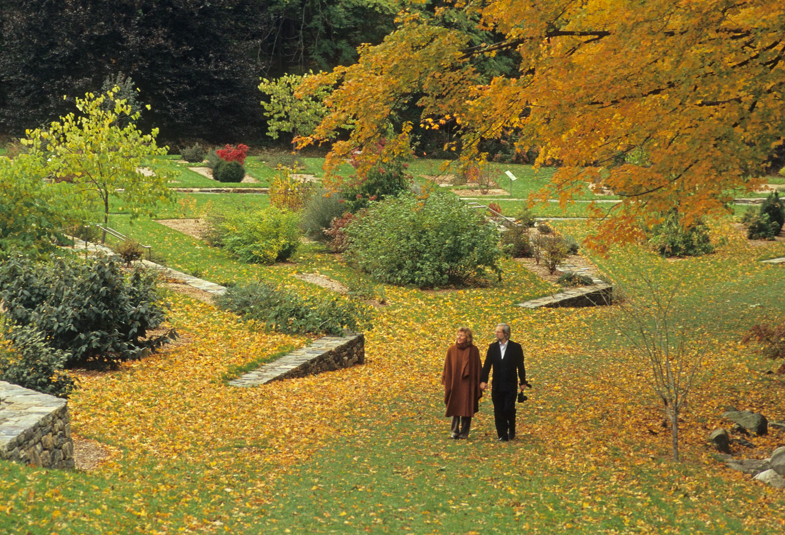 leventritt garden in autumn by Jim Harrison
